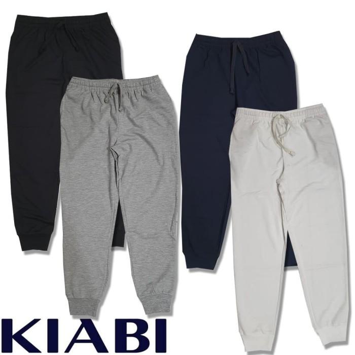 Foto Produk celana jogger training sweatpants fitness kiabi unisex dari toko super murah