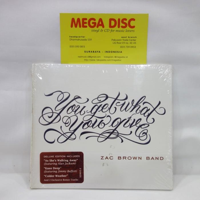 Jual Cd Zac Brown Band You Get What You Give Album Audio Music Kota Surabaya Mega Disc Tokopedia