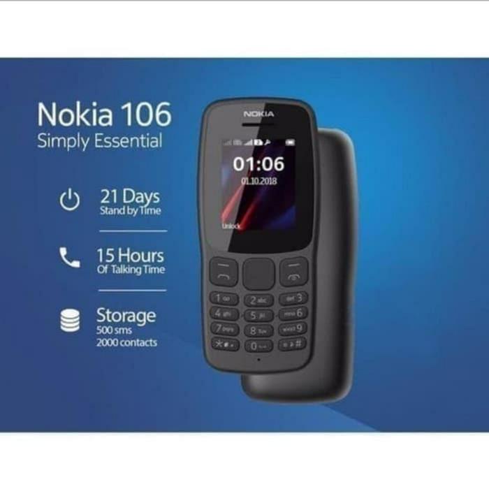 Foto Produk Handphone Nokia 106 2018 New Dual sim dari Negara Jaya Acc