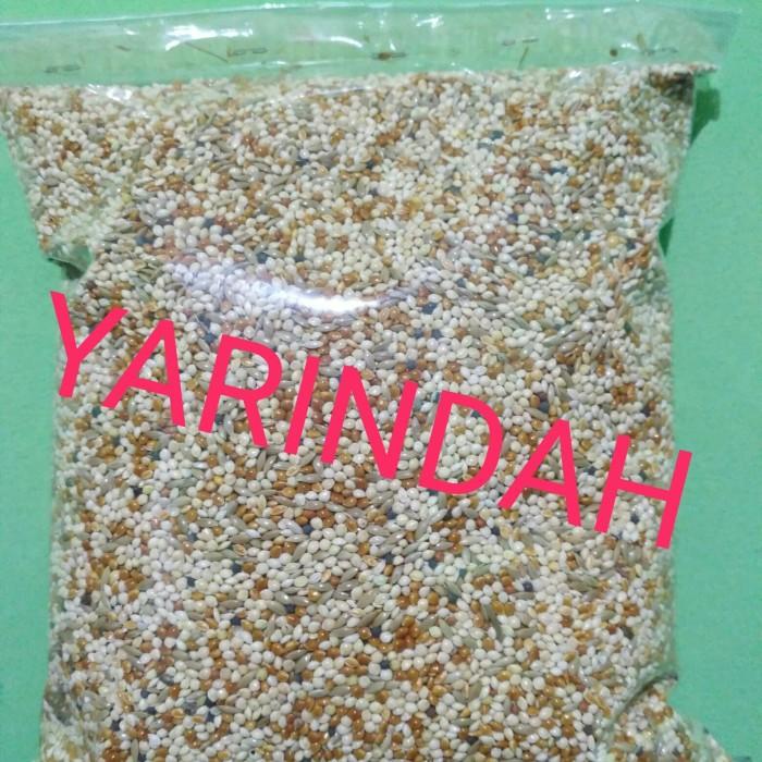 Foto Produk Makanan Burung / Pakan Burung Campur 1kg dari YARINDAH E-STORE