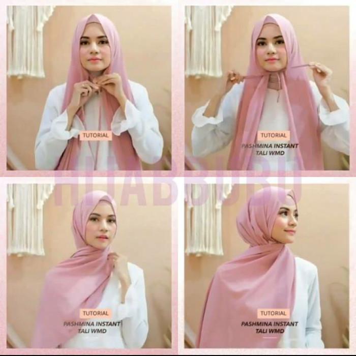 Tutorial Hijab Jilbab Pashmina Tali Jual Hijab Instan Dan Baju Muslim Online Faradisafashion Com