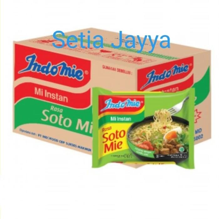 Jual Indomie Soto 1 Karton Isi 40 Bungkus Jakarta Selatan