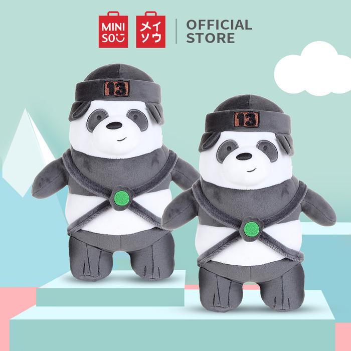 Foto Produk Miniso Offical We bare bears standing plush toy boneka anak - Panda dari Miniso Indonesia