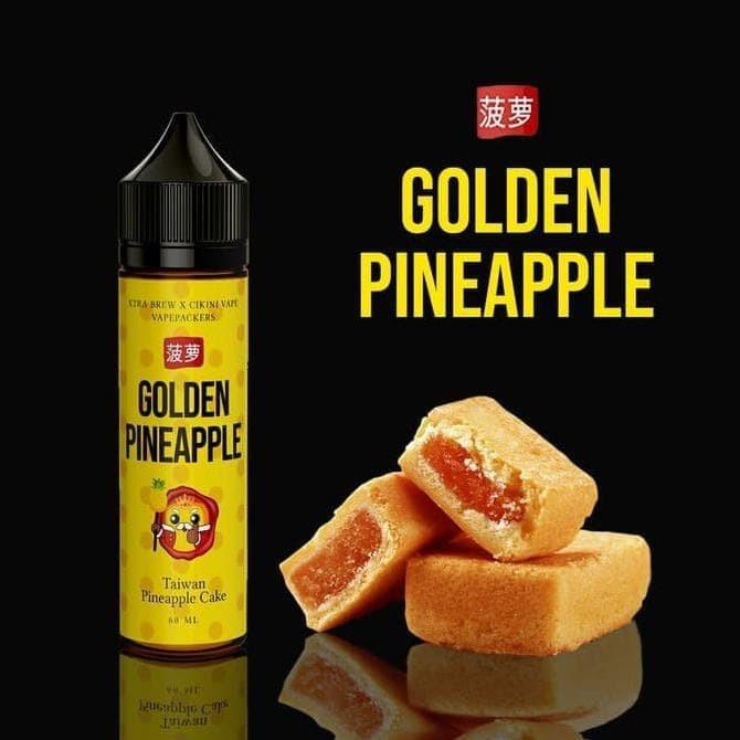 Jual Promo Taiwan Pineapple Cake Golden Pineapple 3mg Best Quality Jakarta Barat Vinda Store666 Tokopedia