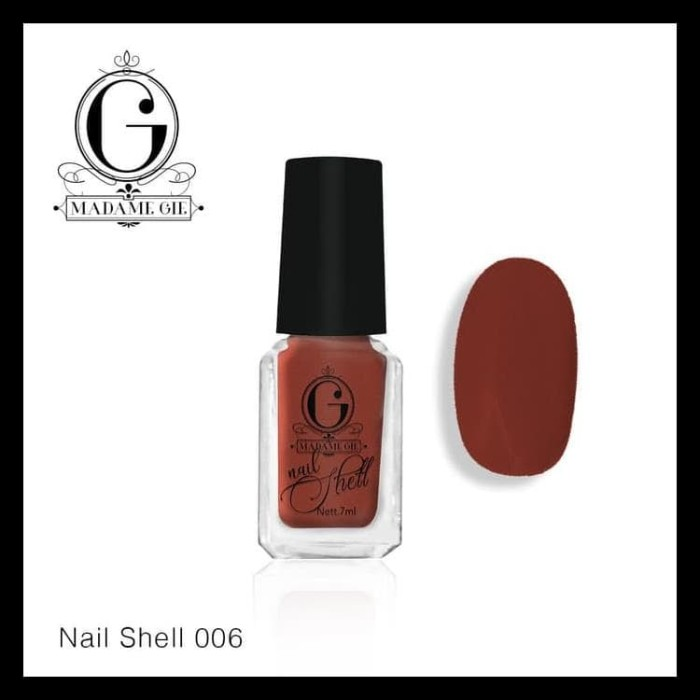 Foto Produk Madame Gie Nail Shell Peel Off Flirt Series (Satuan) dari harpian15