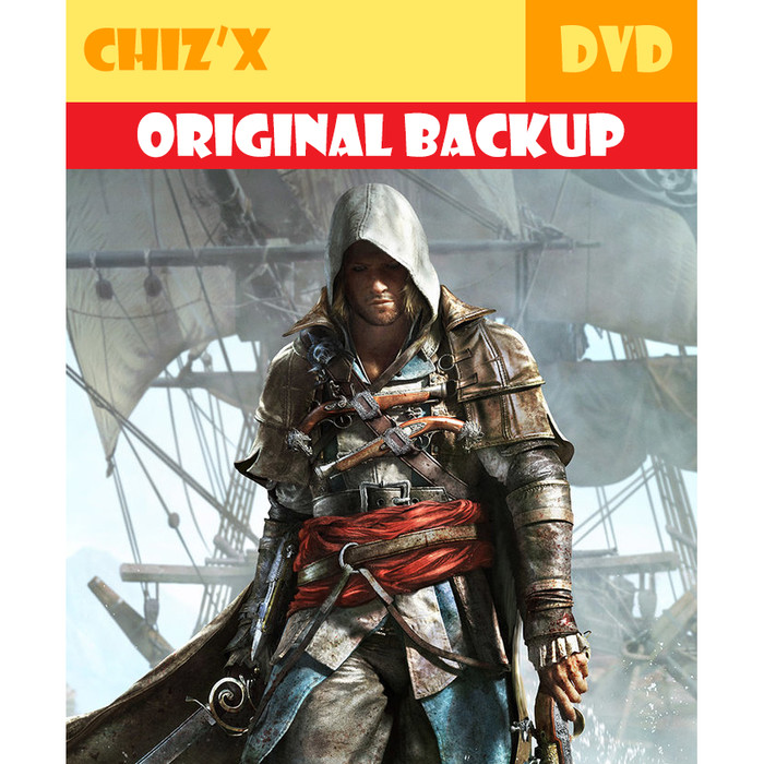 Jual Dvd Assassins Creed 4 Black Flag Pc Steam Original Backup