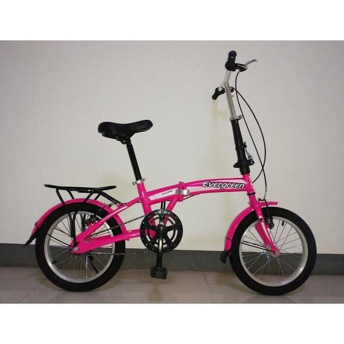 Jual Sepeda Lipat Folding Road Bike 16 Evergreen Cycling Bicycle Kota Depok Melanisportstore Tokopedia