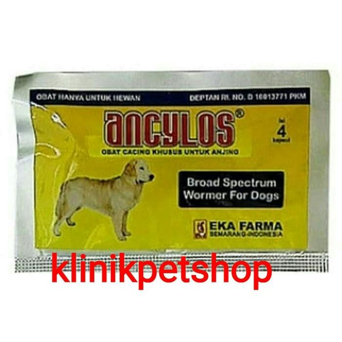 Jual Ancylos Obat Cacing Anjing Obat Cacing Untuk Anjing Jakarta Pusat Klinikpet Tokopedia