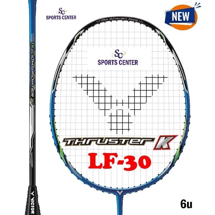 Foto Produk NEW !! Raket Badminton Victor Thruster K LF 30 / TK LF-30 / LF30 (6u) dari Sports Center