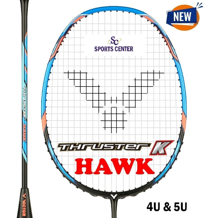 Foto Produk NEW !! Raket Badminton Victor Thruster K HAWK / TK HAWK / TK HAWK dari Sports Center