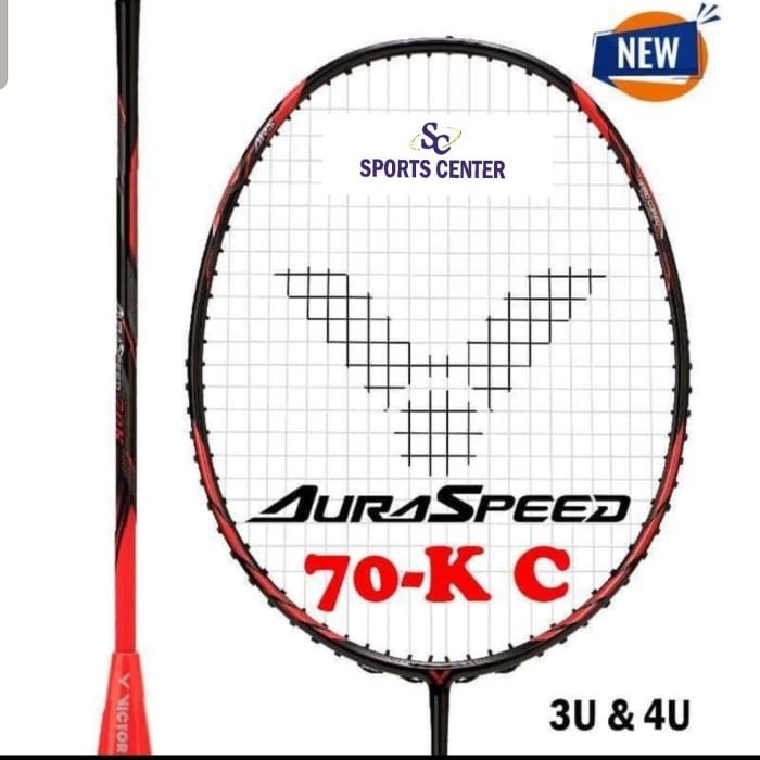 Foto Produk New Raket Badminton Victor Auraspeed 70K / Aura Speed 70 K dari Sports Center