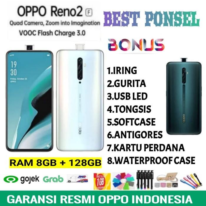 Foto Produk OPPO RENO 2F RAM 8/128 GARANSI RESMI OPPO INDONESIA - Lake Green dari BEST PONSEL