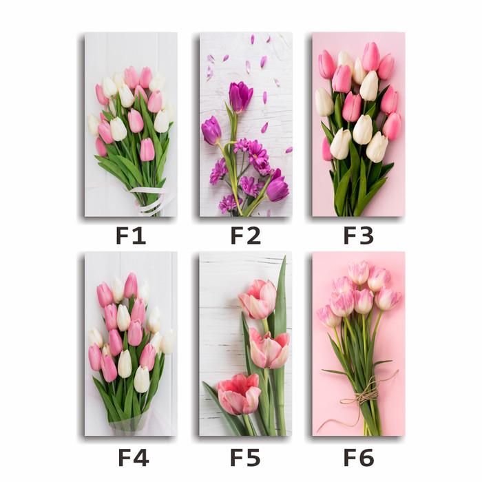 Jual Dekorasi Pajangan Hiasan Dinding Kamar Rumah Bunga Tulip Bef Motif F1 Kab Bandung Barat Flanela Store Tokopedia