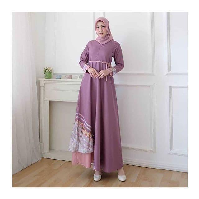 Jual Muezza Dress Gamis Bahan Katun Toyobo Batik Khas Pekalongan Jakarta Pusat Muezza Shop Fashion Tokopedia
