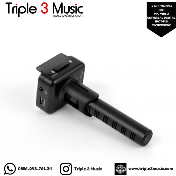 Foto Produk IK Multimedia iRIG Mic Video Universal Digital Shotgun Microphone ORI dari triple3music