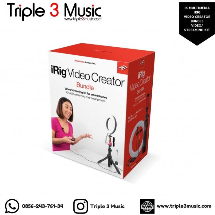 Foto Produk IK Multimedia iRIG Video Creator Bundle VIdeo/Streaming kit ORIGINAL dari triple3music