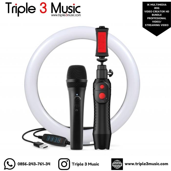 Foto Produk IK Multimedia iRIG Video Creator HD Bundle Proffesional video ORIGINAL dari triple3music