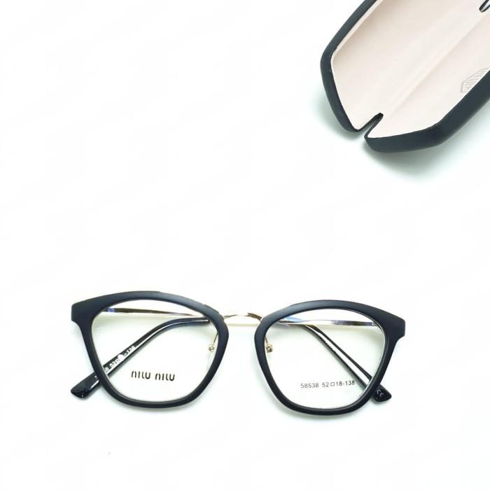 Foto Produk Kacamata minus plus cylnder  Frame Miu Miu 58538 dari Kacamata Felix