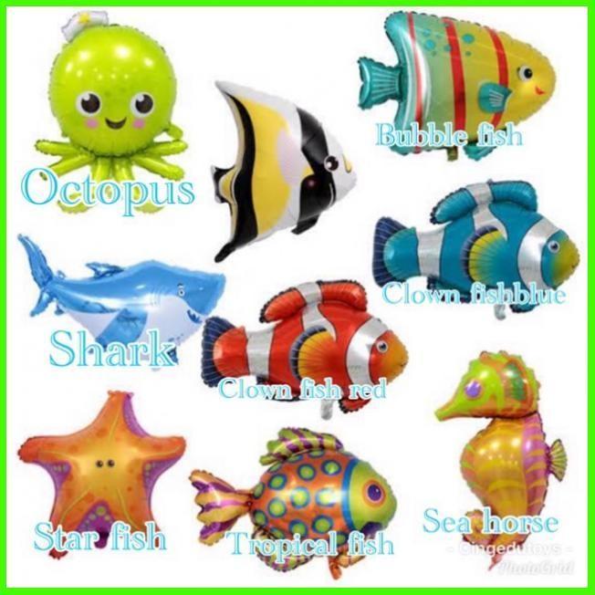 Jual Balon Binatang Laut Ikan Shark Nemo Laut Kuda Jakarta Pusat Purnamahumbleshop Tokopedia