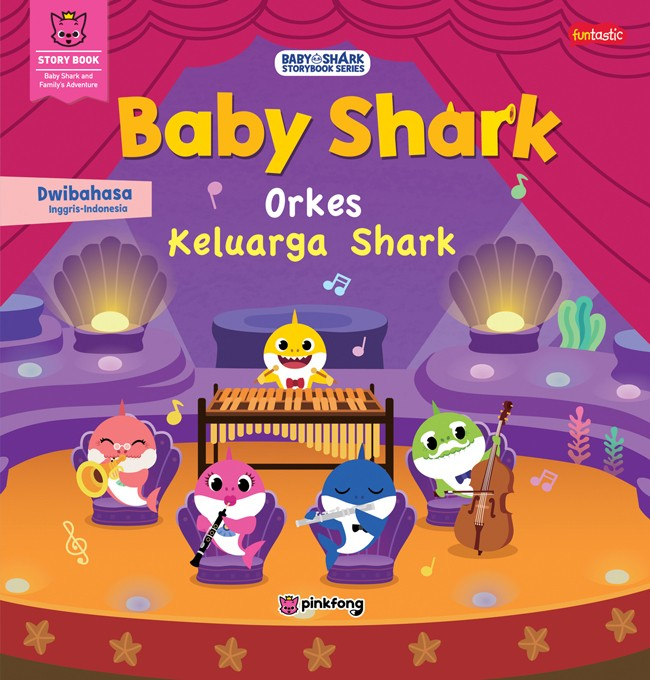 Foto Produk Buku, Baby Shark - Orkes Keluarga Shark -Ori dari Pusat Buku Original