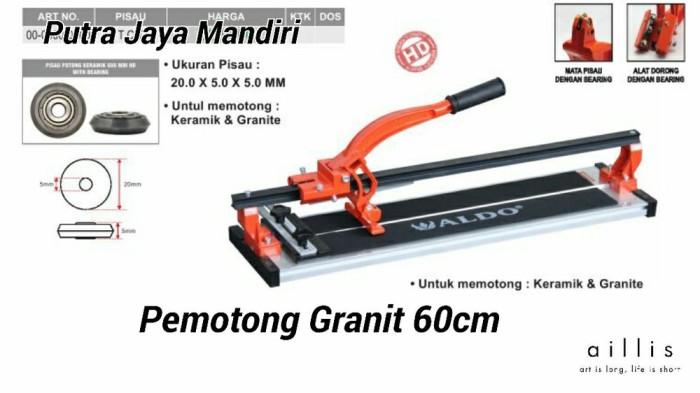 Foto Produk Alat Pemotong Granit dan Keramik Heavy Duty 60cm Aldo dari blendastore2020