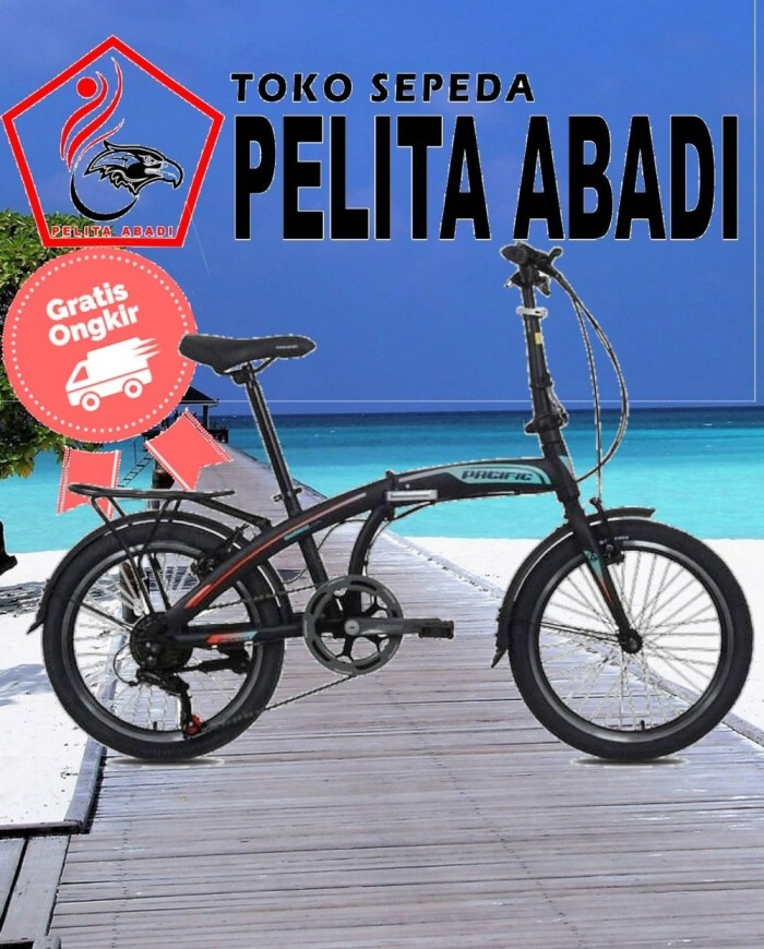 Jual Sepeda Lipat Pacific 20 Inch 2980 Rx V Brake Murah Kota Semarang Lusiatul Jamiah Tokopedia