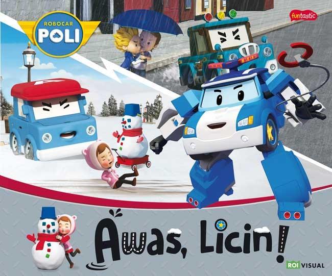 Foto Produk Buku, Robocar Poli: Awas, Licin! -Ori dari Pusat Buku Original