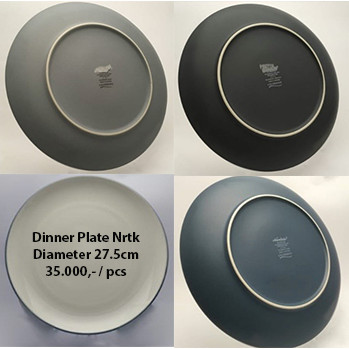 Foto Produk Dinner Plate Nrtk | Ekspor Murah | Dinner HN dari GALAXY HouseholdCeramics