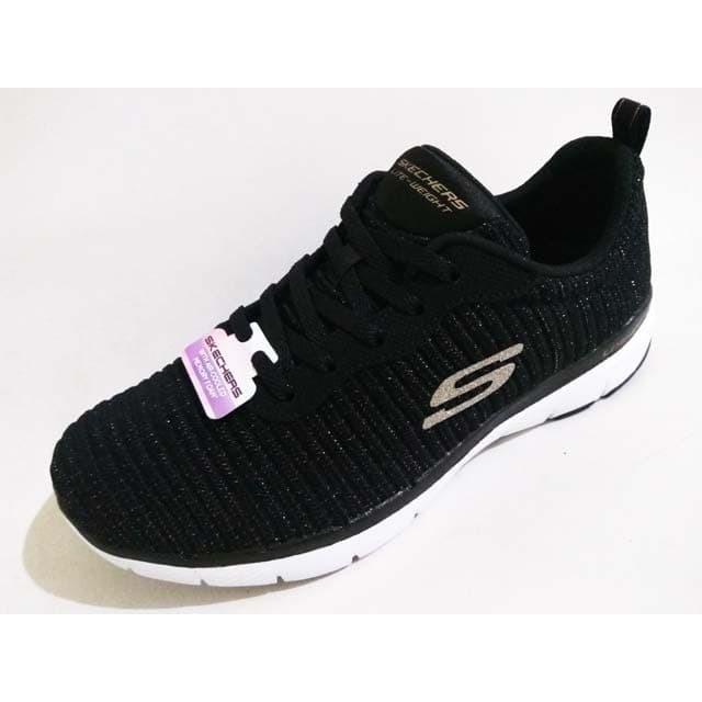 Limón Confesión almohada  Jual Sepatu Skechers Memory Foam Flex Appeal 3 Endless Glamour 13071 BlacK  - Jakarta Pusat - Gudang-Sport   Tokopedia