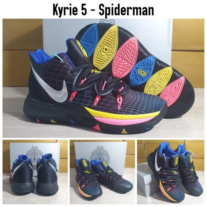 Sepatu Basket Nike Kyrie 5 Spiderman