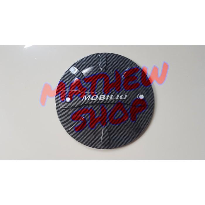 Foto Produk Tank Cover Honda Mobilio Full Carbon / Tutup Tangki Bensin Mobilio dari Mathew Shop