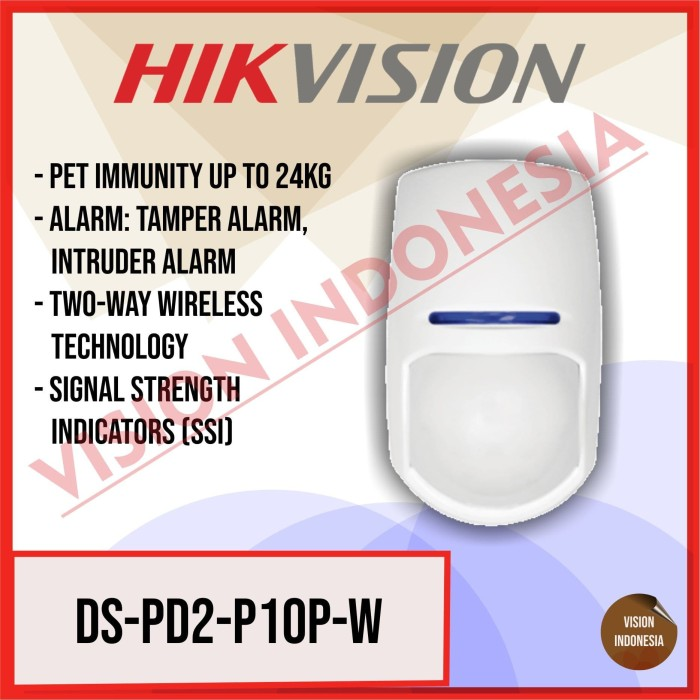 HIKVISION DS-PD2-P10P-W WIRELESS INTERNAL MOVEMENT DETECTOR