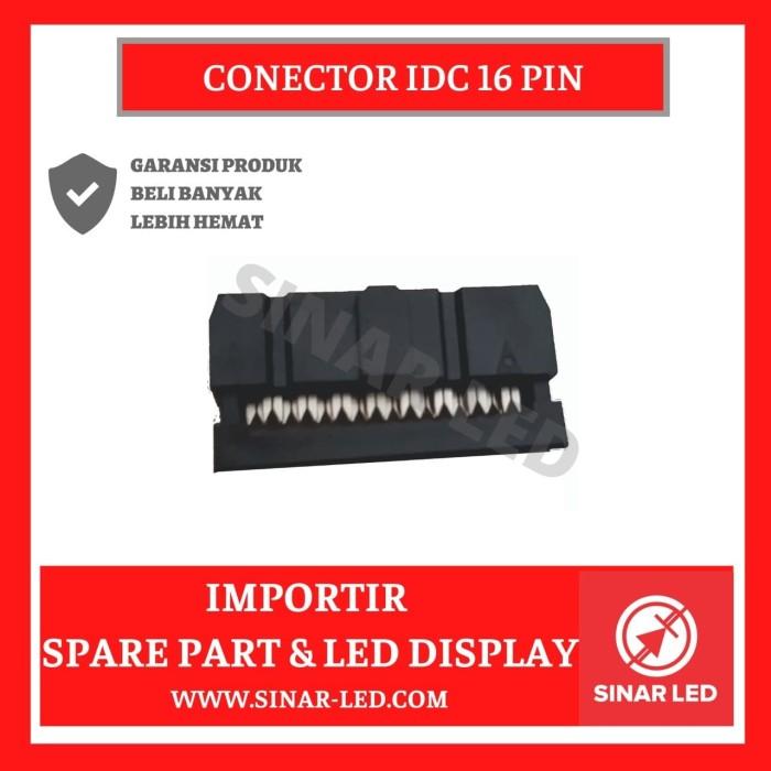 Foto Produk Connector IDC 16 Pin dari sinar led