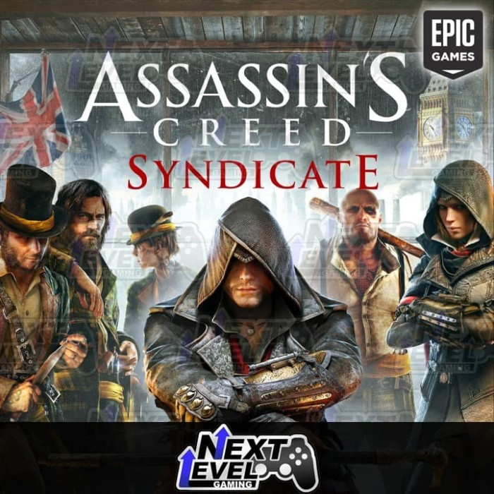 Jual Assassin S Creed Syndicate Epic Games Backup Dvd Pc Kota