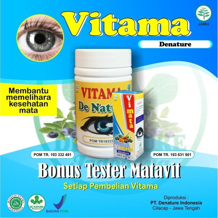 Foto Produk Obat Mata Minus,Plus,Katarak,Rabun,Glukoma,Slinder Vitama De Nature dari Griya Denature