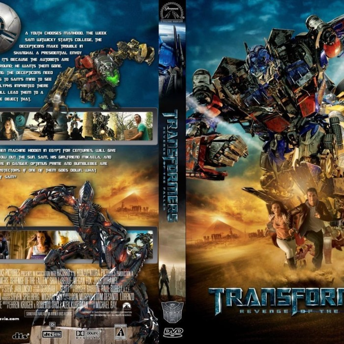 Jual Film Dvd Transformers Revenge Of The Fallen 2009 Movie Collection Film Jakarta Barat M Collector Tokopedia