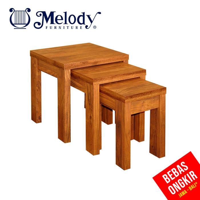 Jual Melody Furniture Meja Mini Serbaguna Susun 3 Havana Nest Table Kab Malang Melody Furniture Tokopedia