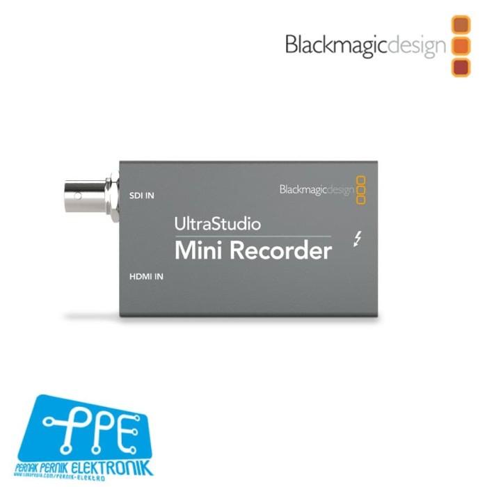 Jual Blackmagic Design Ultrastudio Mini Recorder Resmi Kota Bekasi Pernak Pernik Elektronik Tokopedia