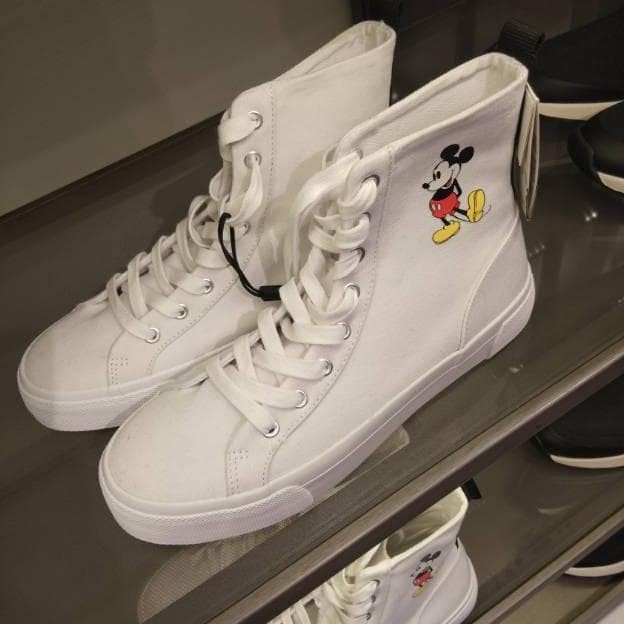 Jual Terlaris Jastip Zara Sepatu Boots Flat Zara Mickey Mouse