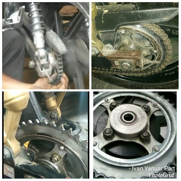 Foto Produk Alumunium Braket Penahan Gear Tiger Tilam Tirev Breket NapGear ANTI dari griyalope