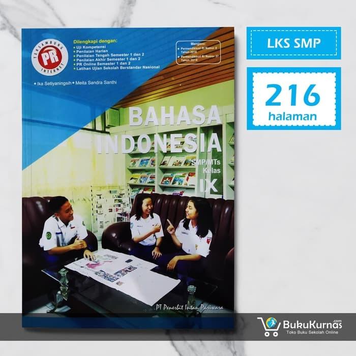 Jual Buku Lks Bahasa Indonesia Smp Kelas 9 K13 Intan Pariwara 37500 58100 3 Kota Surabaya Sahabatilmu Tokopedia