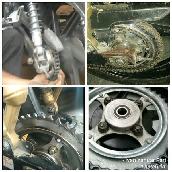 Foto Produk Braket Penahan Gear Tiger Tilam Tirev Breket NapGear Bahan Besi dari griyalope