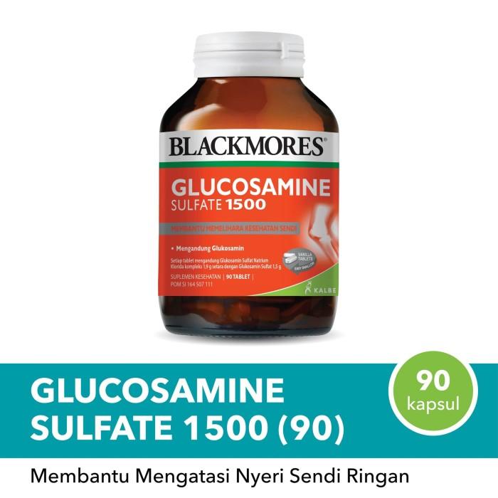 Foto Produk BLACKMORES GLUCOSAMINE SULFATE 1500MG (90) BPOM KALBE dari Mitrasana