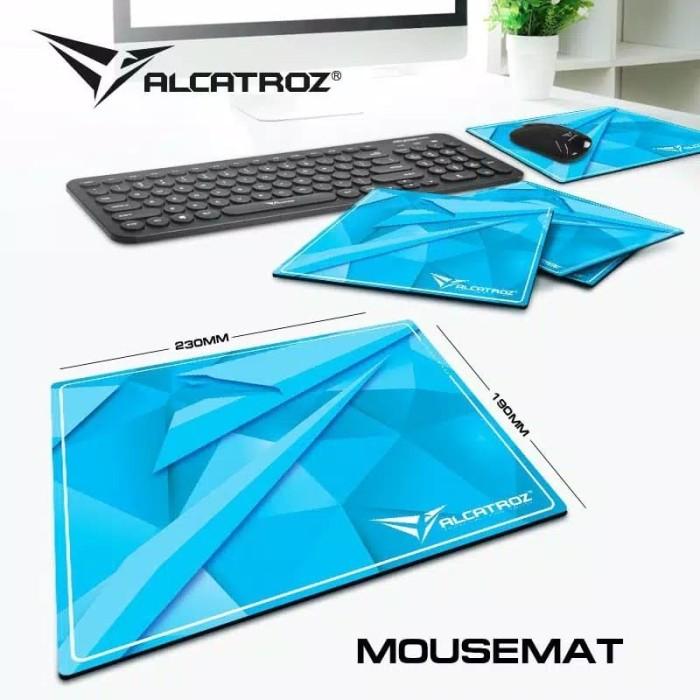 Foto Produk Alcatroz Gaming Mousemat Murah & Berkualias [ Product of Singapore ] dari Alcatroz Official Store
