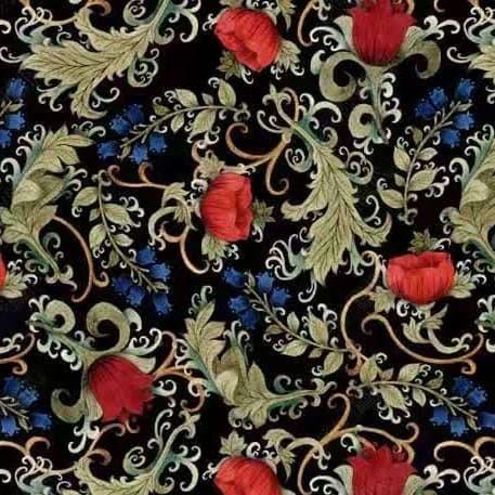 Jual Grosir Murah Wallpaper Sticker Dinding Bunga Ulir Mawar Merah Biru Jakarta Utara Nafisamart Tokopedia