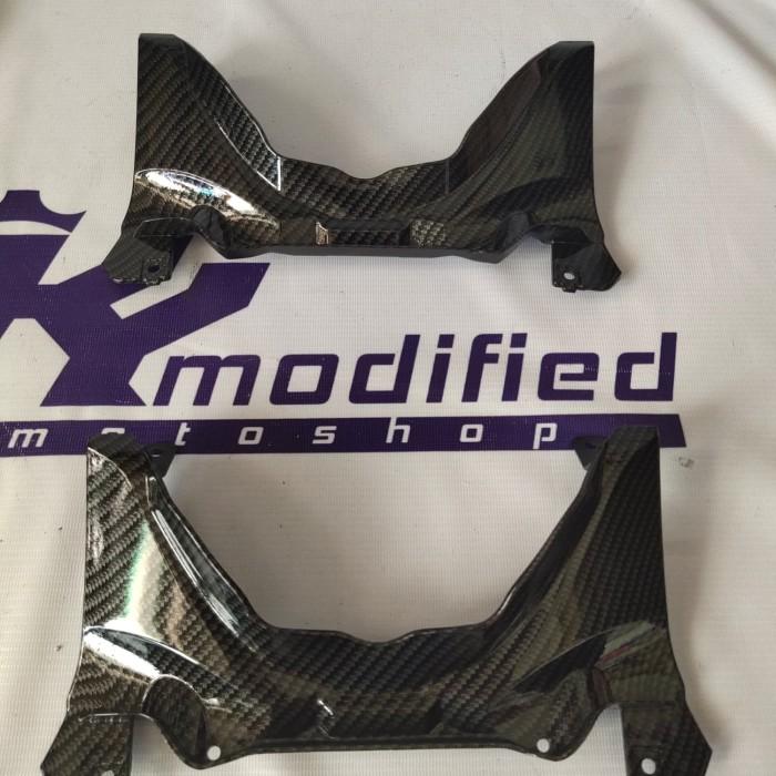 Foto Produk Tengah jok carbon original yamaha All New R15 VVA V3 dari KY Modified