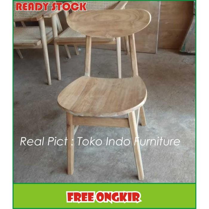 Foto Produk Kursi Cafe, Kursi Makan, Kursi Makan Jati Miniamlis dari Toko Indo Furniture