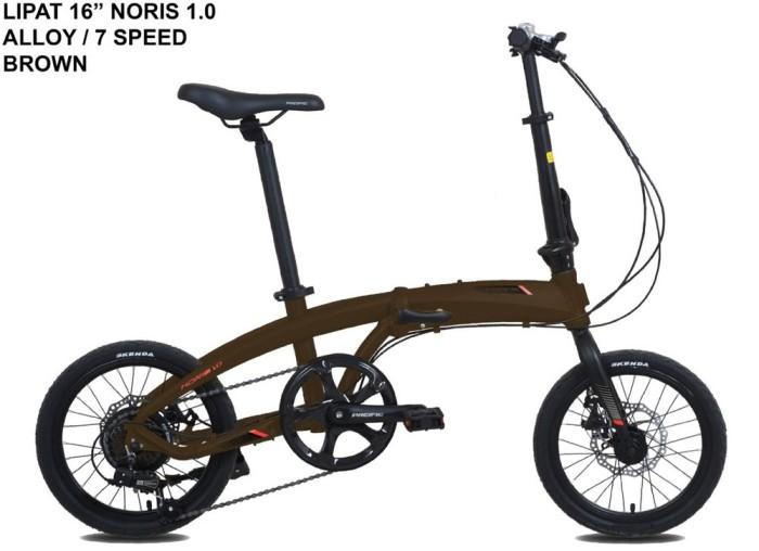 Jual Sepeda Lipat Pacific Noris 1.0 ukuran 16inch