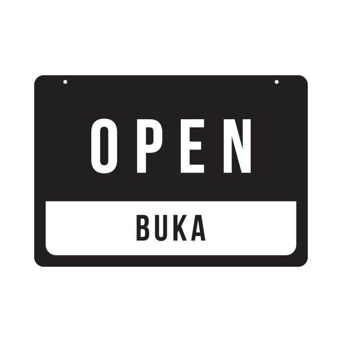 Foto Produk Open Closed OPCR 02 | Akrilik Rectangle | Sign Board Acrylic dari Otello Laser Cut