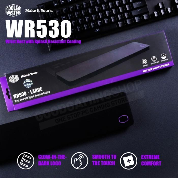 Foto Produk CoolerMaster CM WR530 - WristPad LARGE - L dari GOODGAMINGM2M